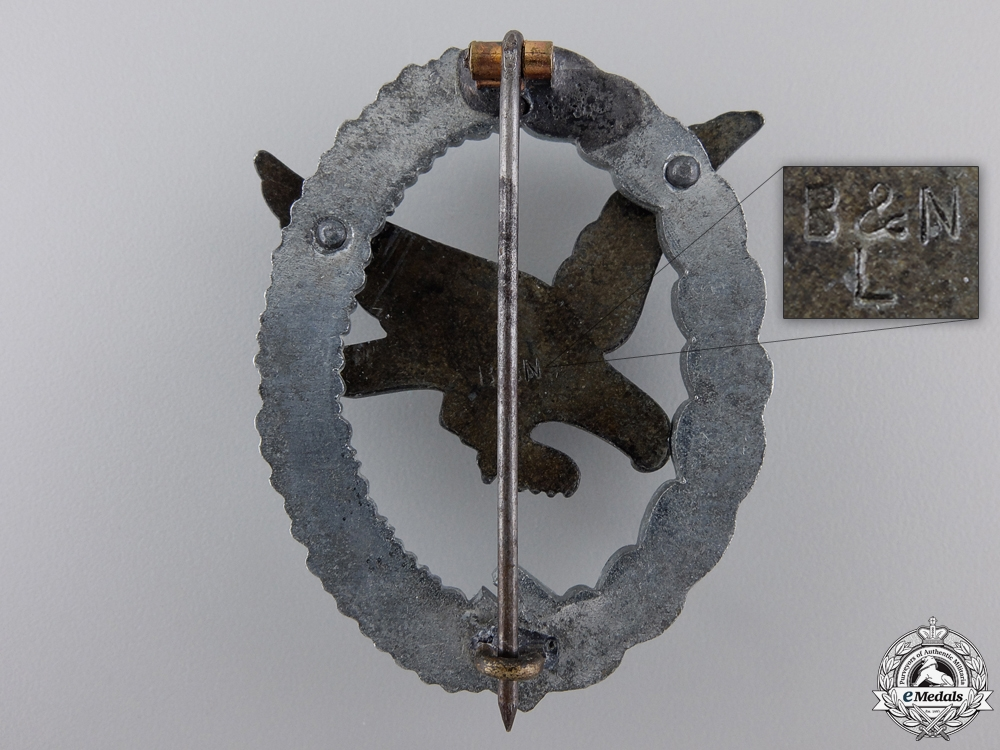 An Air Gunner Badge Without Lightning by B&NL