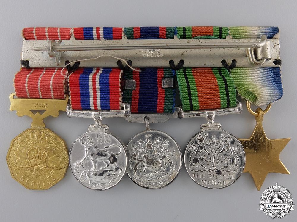A Second War Miniature Group of Five