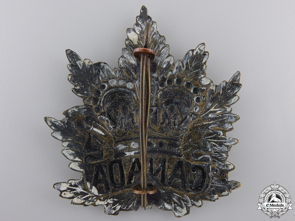 A South African War Canadian Cap Badge