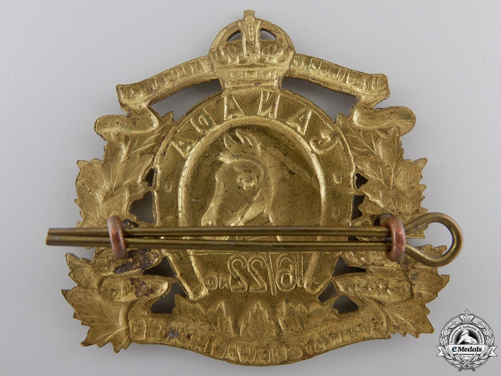 A Second War 16th/22nd Saskatchewan Horse Cap Badge