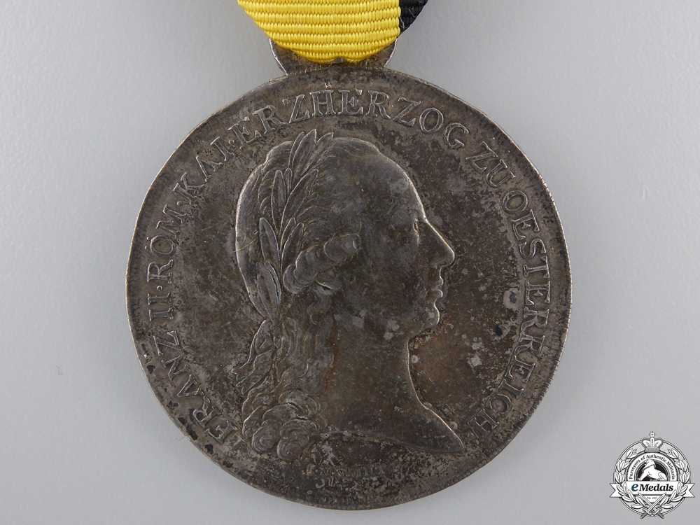 A 1797 Lower Austrian Merit Medal