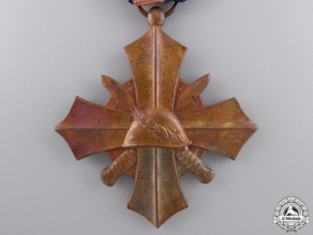 A 1939 Dutch Mobilization War Cross