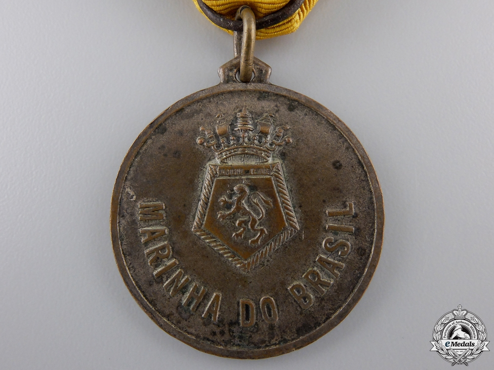 A Brazilian Navy N E Duke of Caxias Tour Commemorative Medal 1953-1954