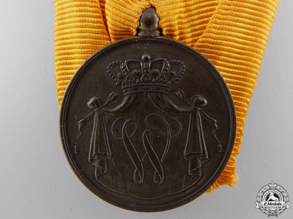 A Dutch Army Long Service Medal; Bronze Grade