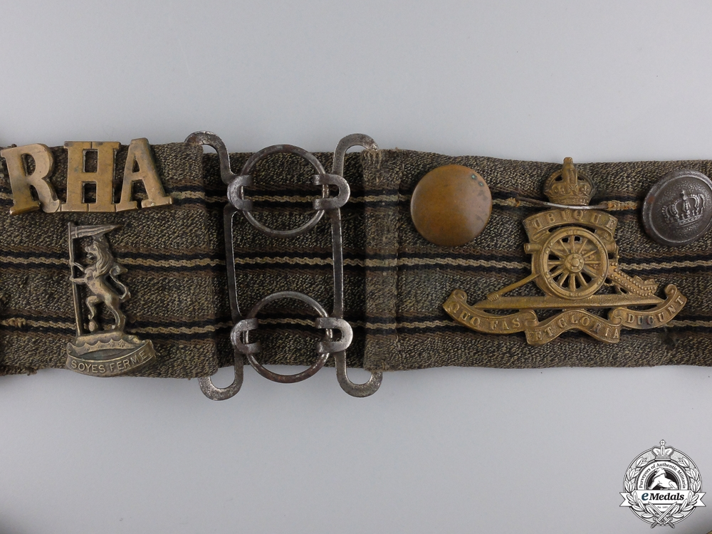 "A First War Commonwealth ""Hate"" Belt"