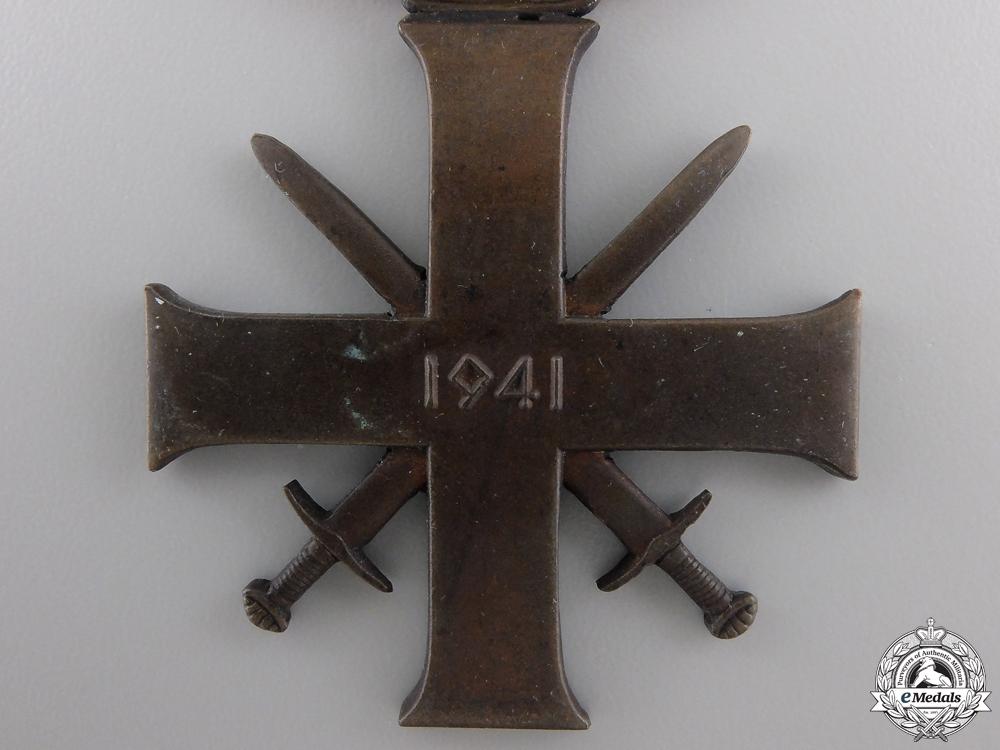 A Rare Norwegian Merit Cross with Swords 1940-45; Second Class