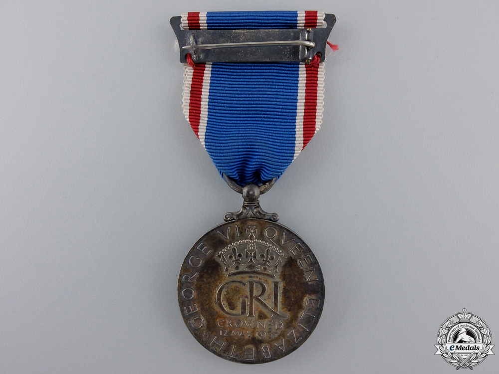 A 1937 King George VI and Queen Elizabeth Coronation Medal