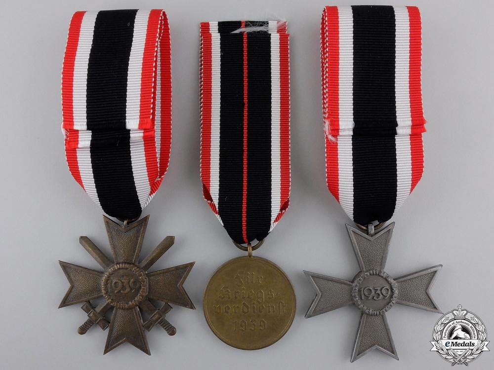 Three Second War German Merit Awards