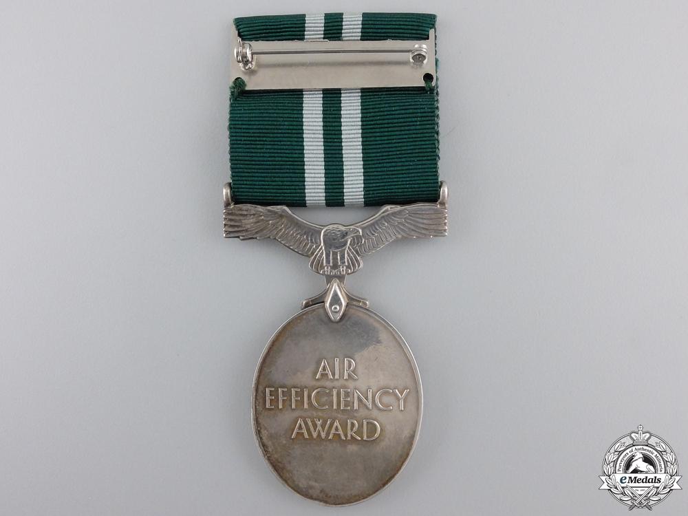 A GVI Air Efficiency Medal to the RAFVR