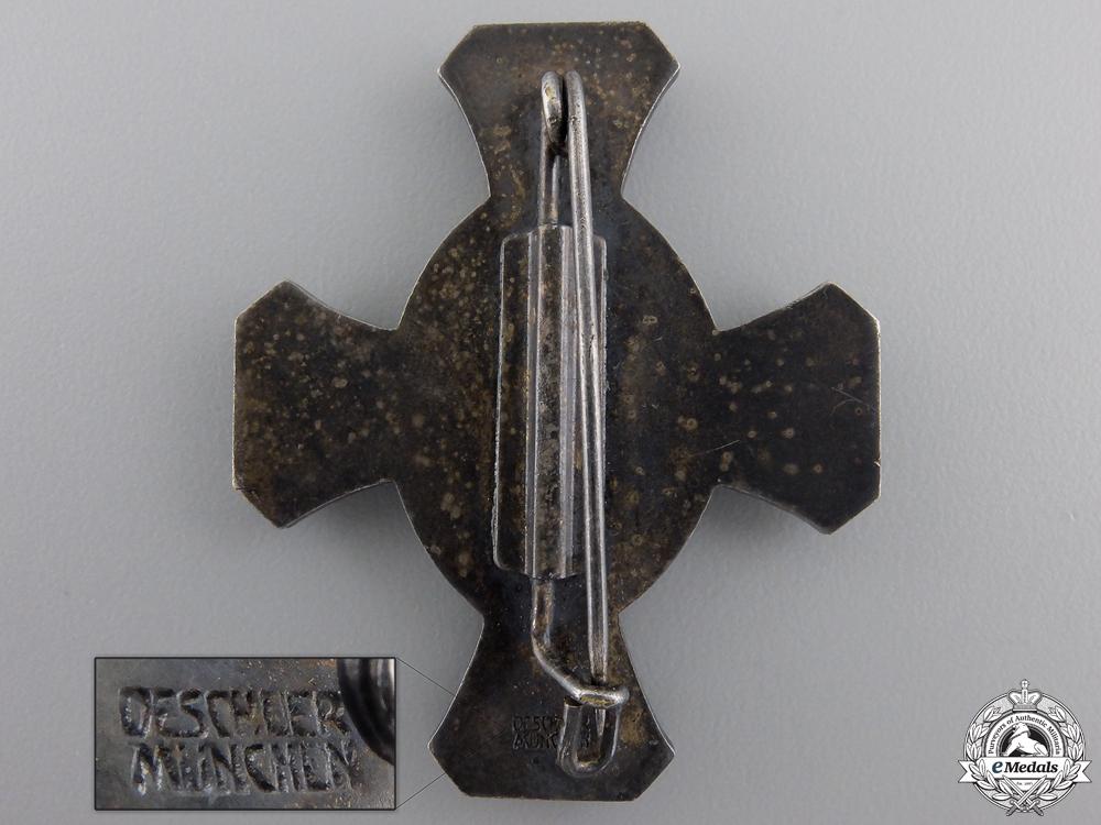 A Bavarian War Veteran Organization Honour Cross by Deschler