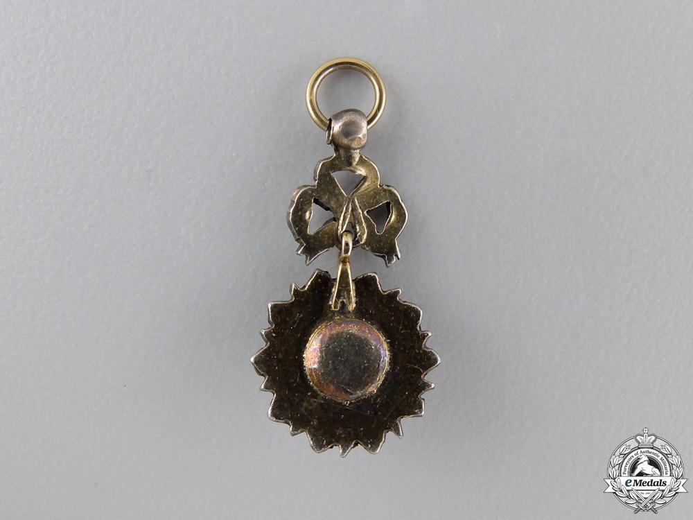 A Miniature Tunisian Order of Nishan Iftikar