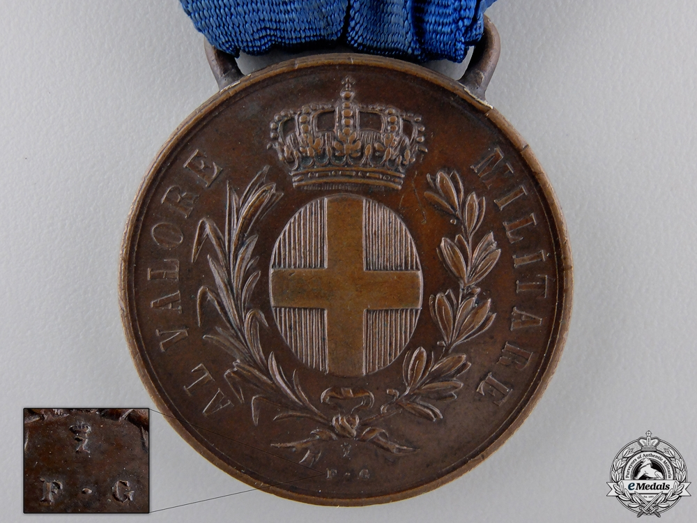 An Italian 1941 Military Medal for Valour to Selmi Carlo