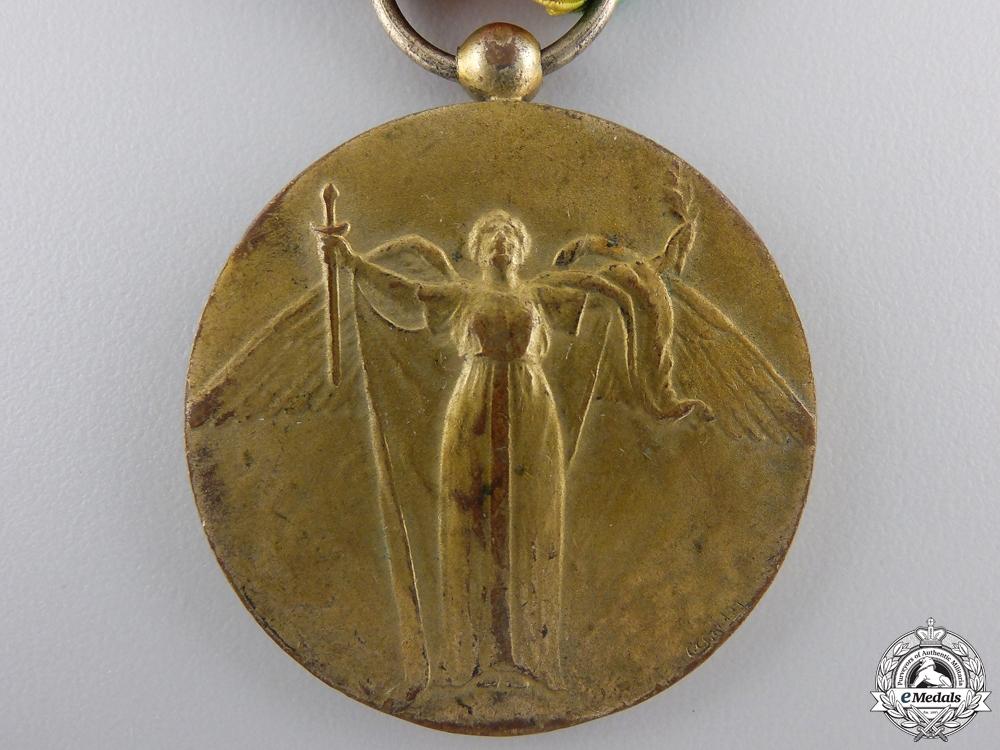 A Cuban First War Victory Medal