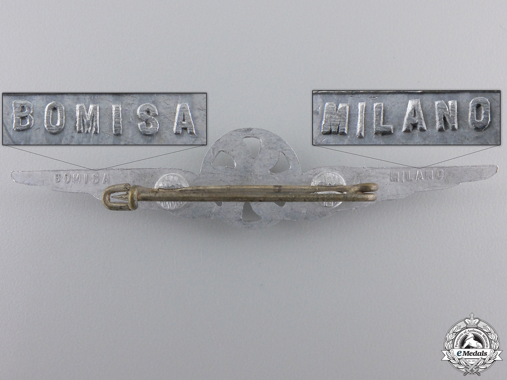 A Second War Italian Air Force Photographer Badge