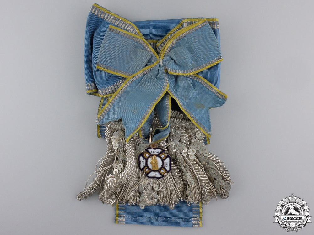 A Bavarian Order of St Anne in Gold to Leutnant Von Grafenstein