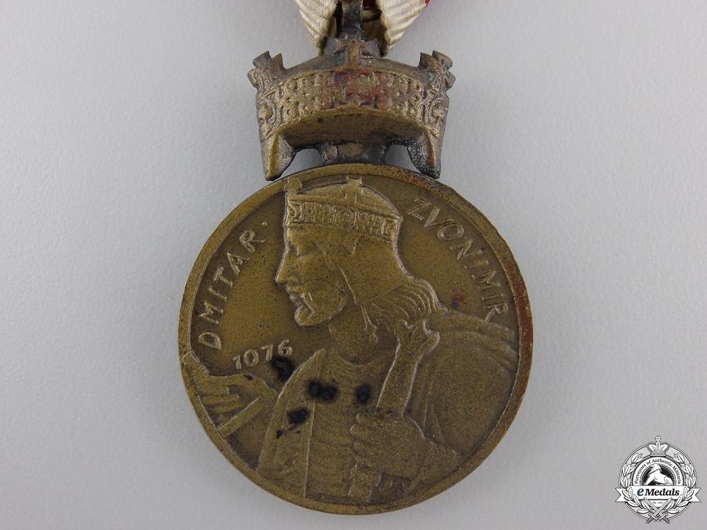 A Croatian Merit Medal of King Zvonimir