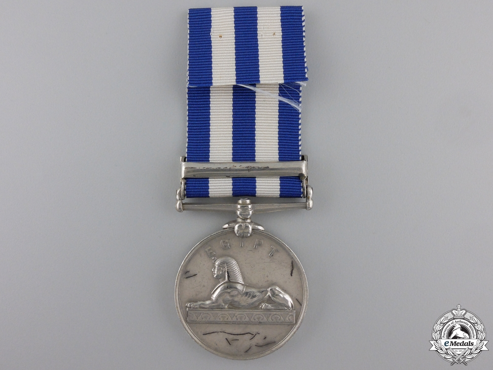 An 1882-89 Egypt Medal for Abu Klea
