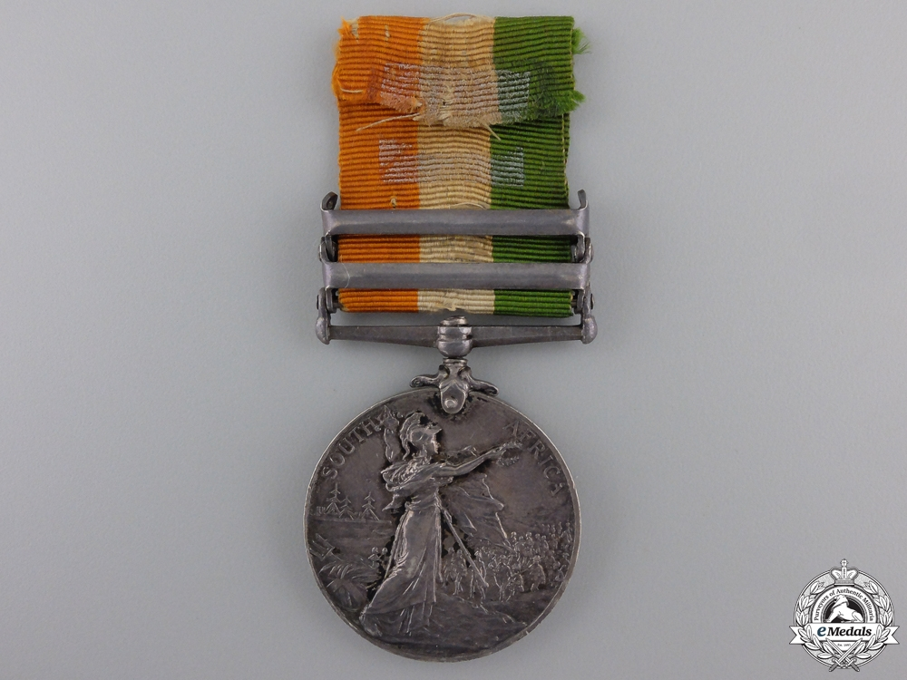A King's South Africa Medal to the Royal Sussex Regiment