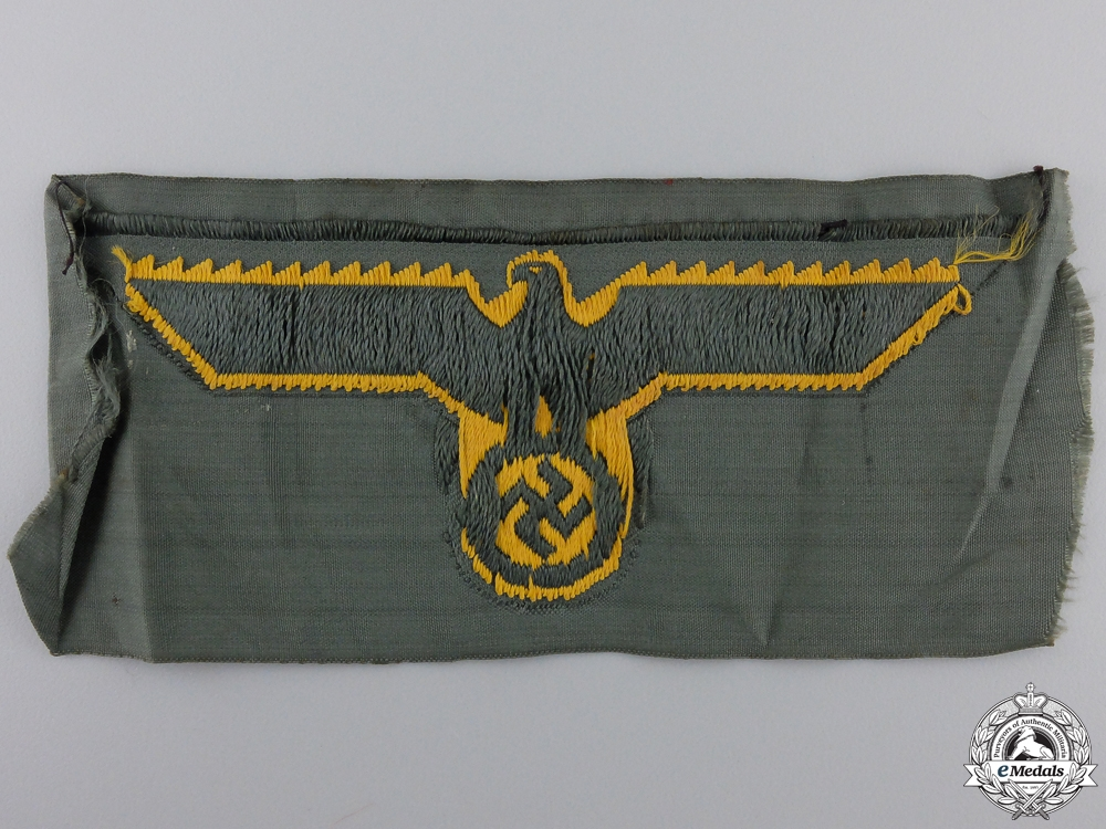KM Coastal Artillery NCO/EM Breast Eagle
