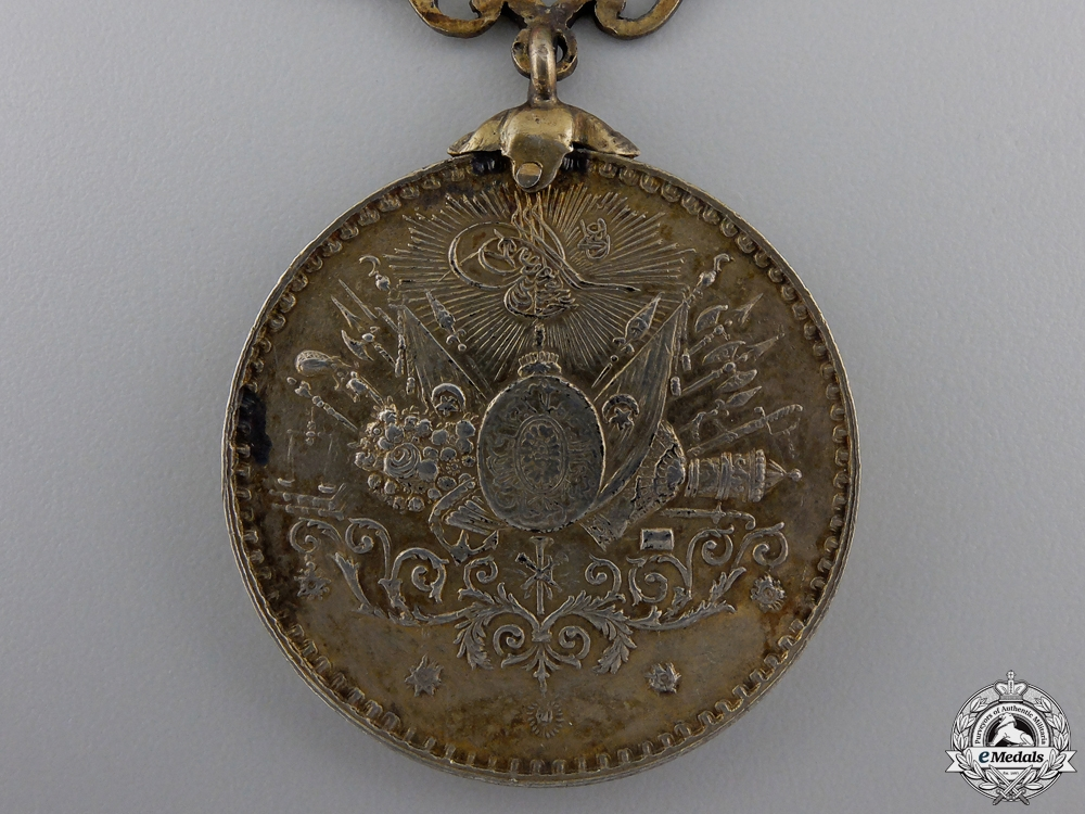 A Turkish Golden Military Imtiaz Medal