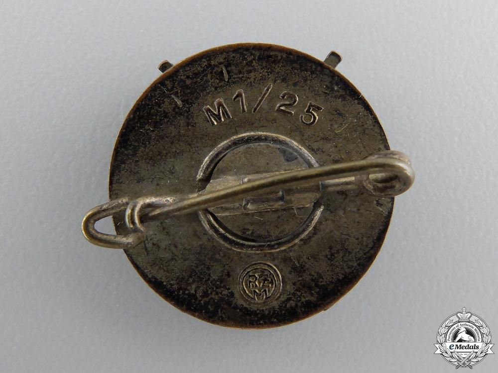 An HJ Shooting Efficiency Badge by Rudolf Reiling