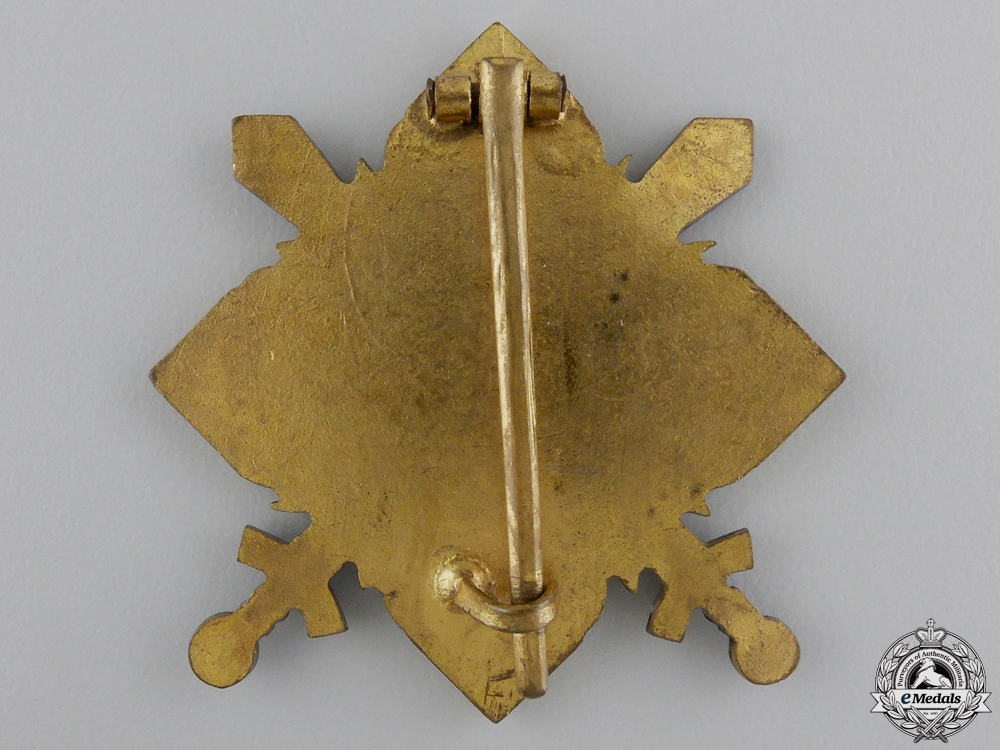 A Romanian Military Officer's Sports Badge