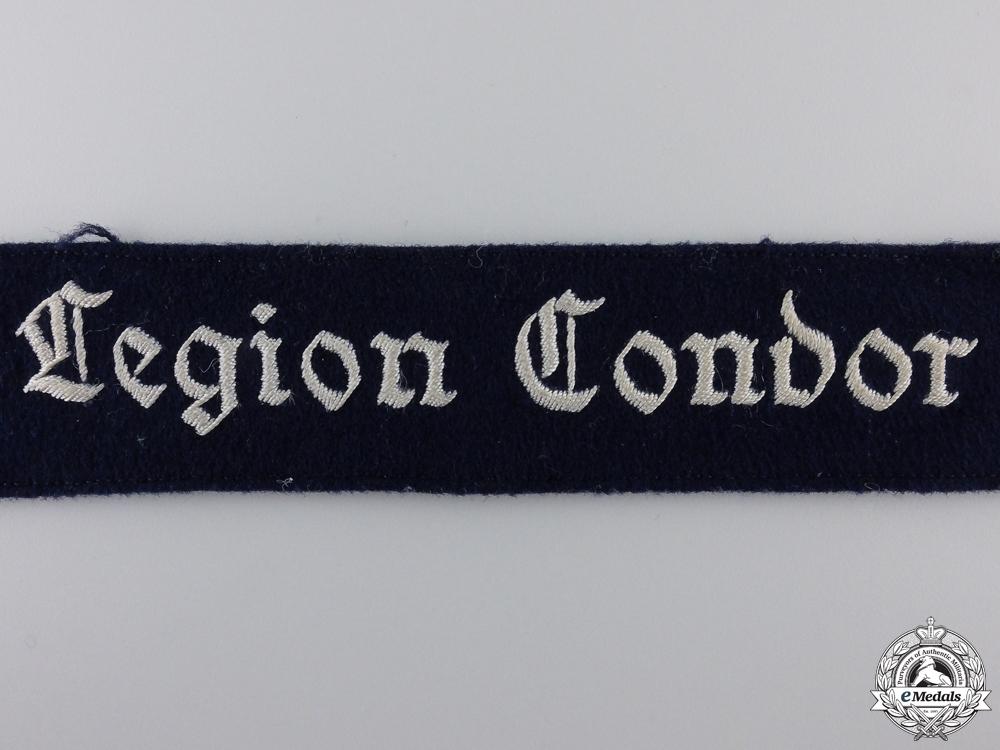 A Legion Condor Cufftitle; NCOs Version