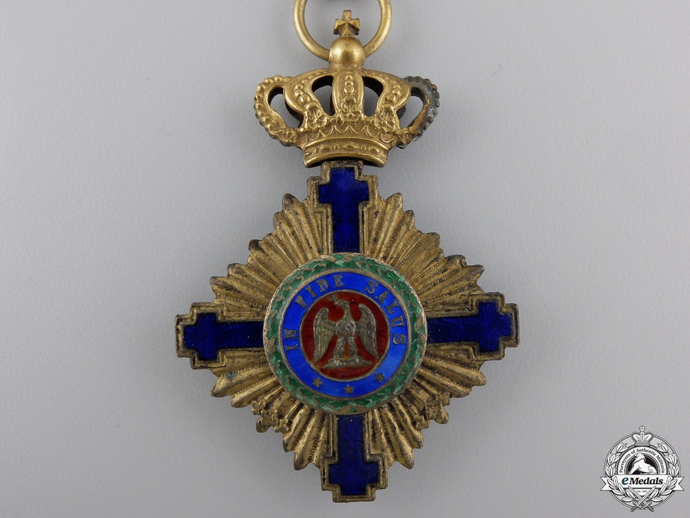 An Order of the Romanian Star; Civil Division Officer with Swords