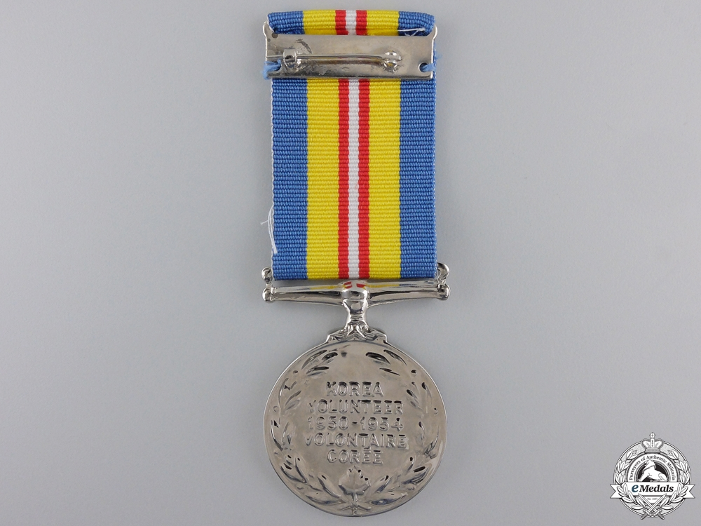 A 1950-54 Canadian Korea Volunteer Service Medal
