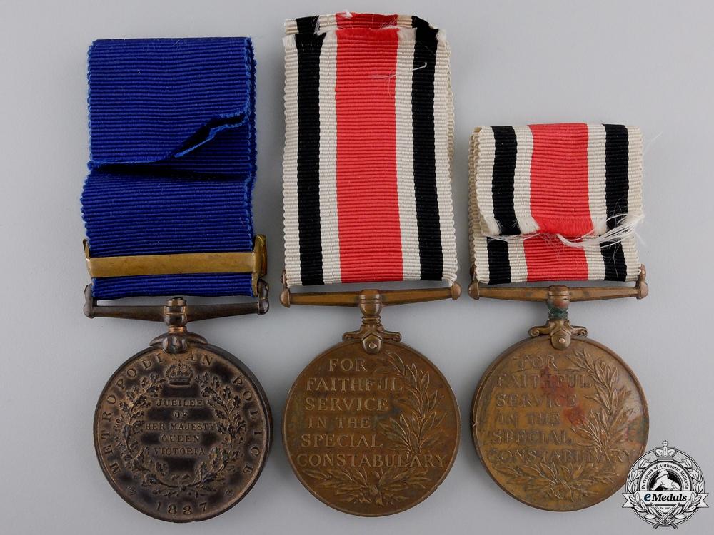Three British Constabulary Medals