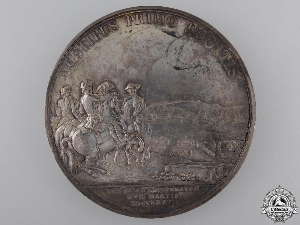 A 1776 Washington Before Boston Commemorative Table Medal