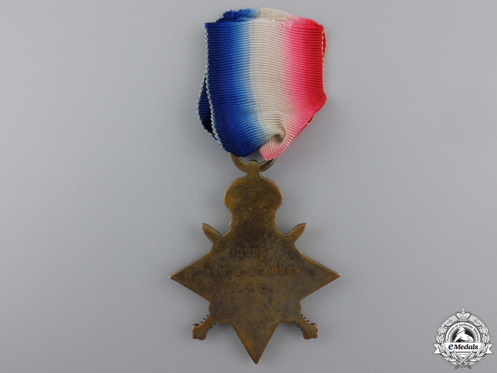 A First War 1914-15 Star to the Royal Flying Corps
