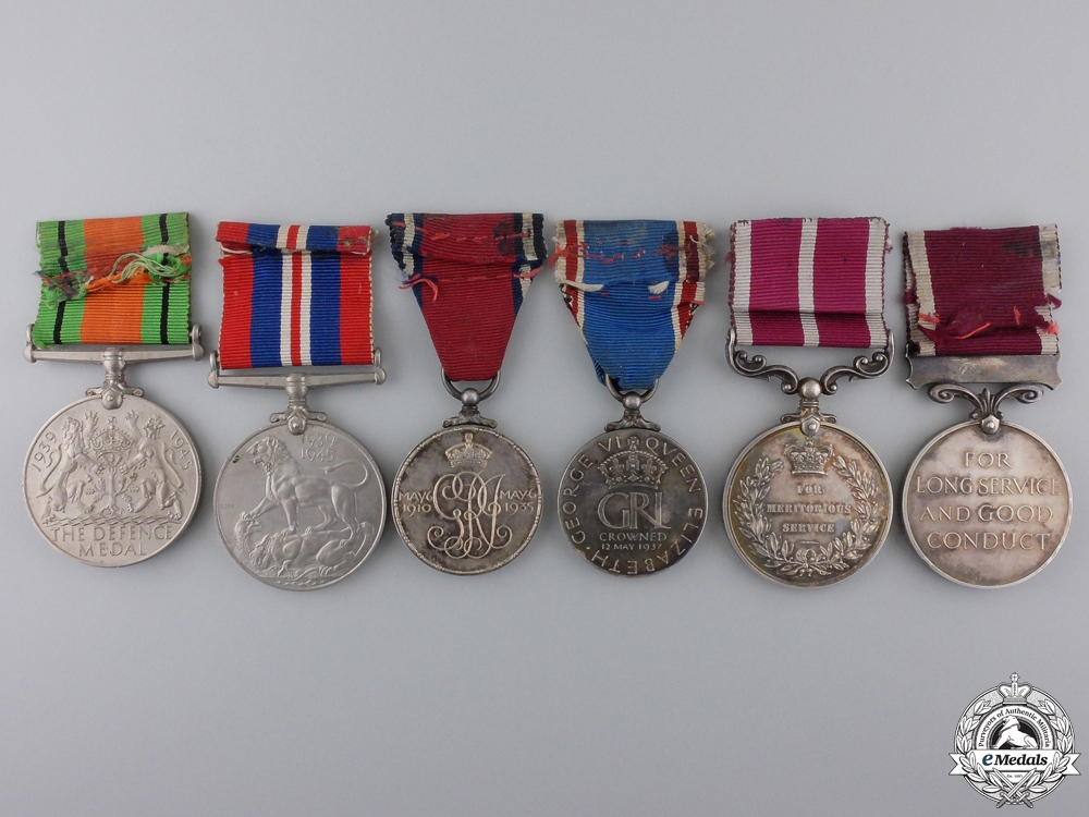 A Meritorious & Long Service Medal Bar to the Royal Artillery