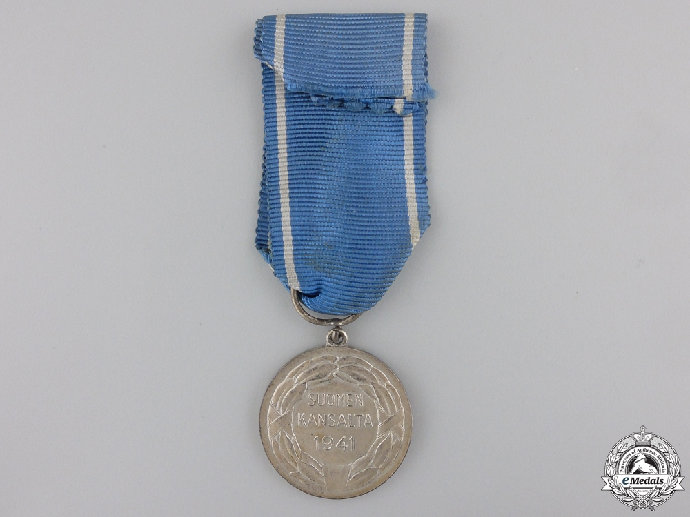 A Finnish Medal of Liberty with Red Cross; 1st Class