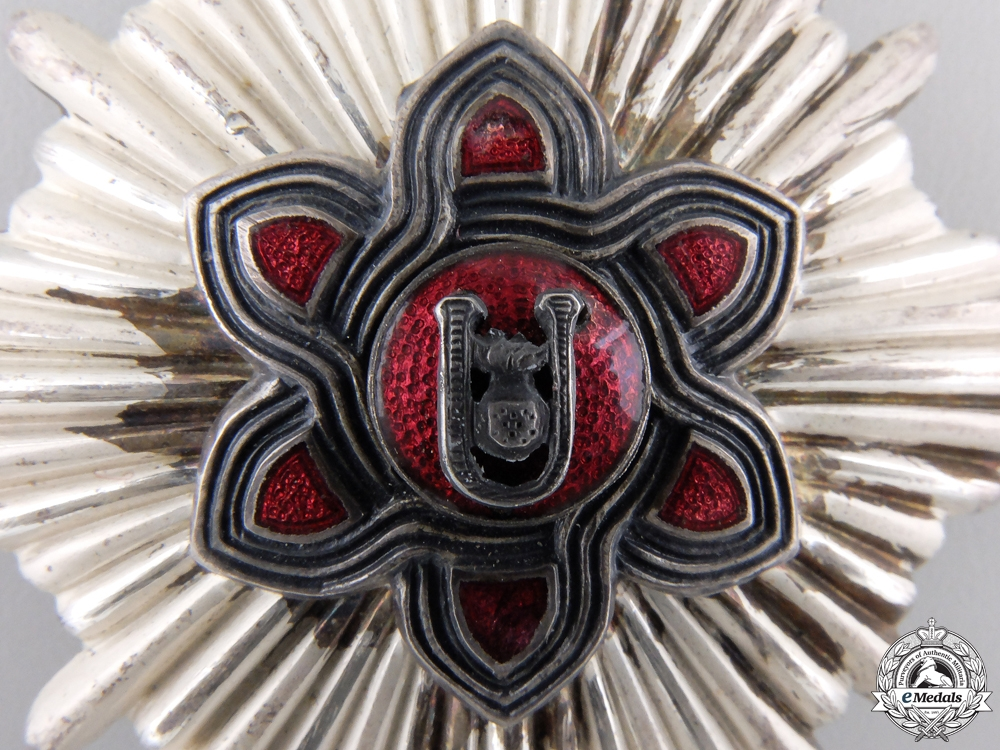 A Croatian Order of Merit; Moslem Version; Lady's 1st Class
