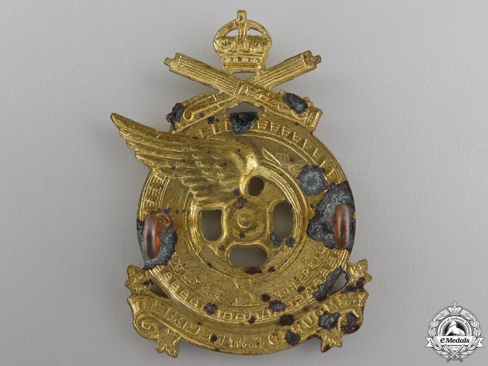 A Second War 2nd Armoured Car Regiment Cap Badge