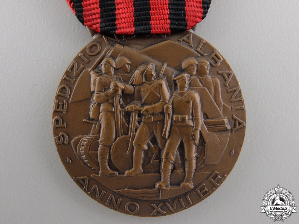 An Italian Medal for the Expedition to Albania