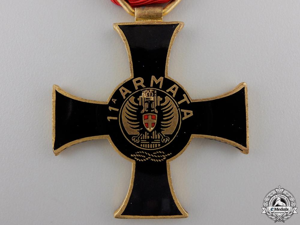 An Italian 11th Armata (Army) Cross