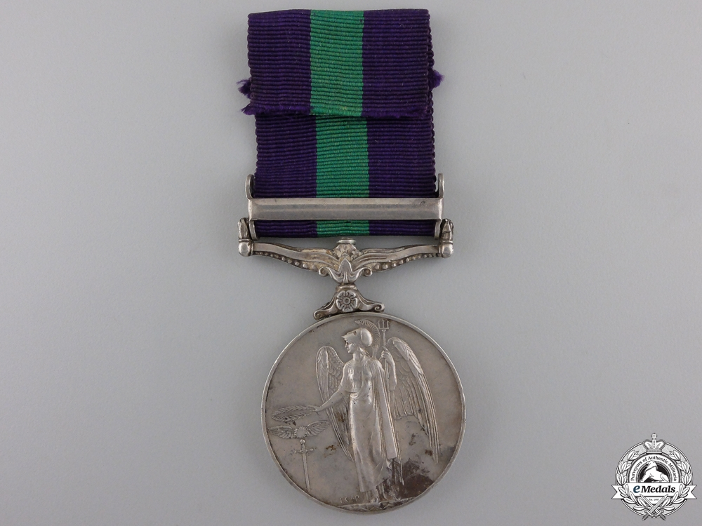 A General Service Medal for Service in Malaya