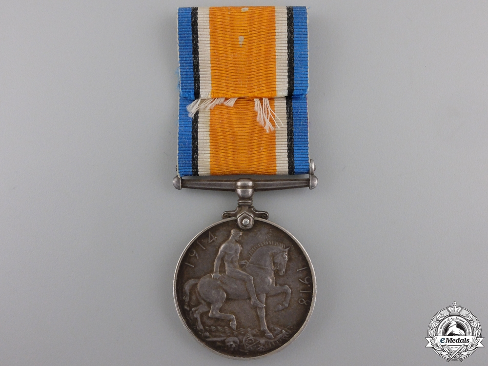 A WWI British War Medal to Carmelo Bugeia
