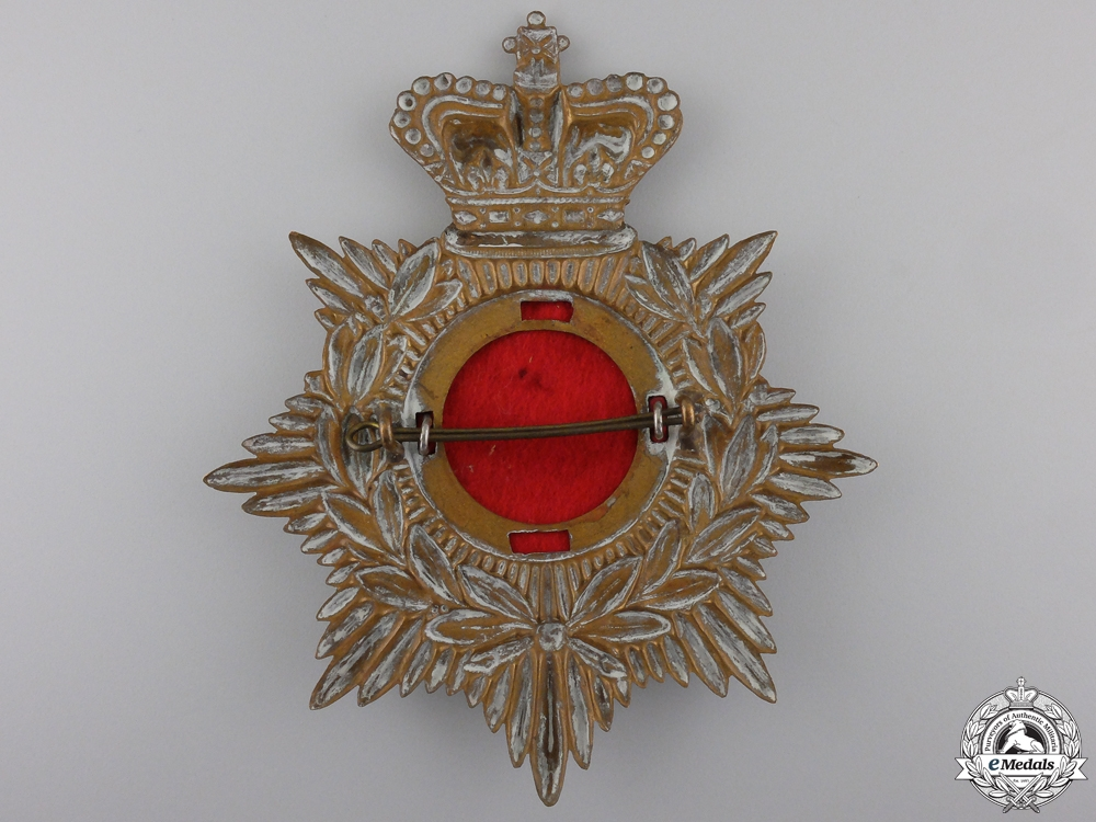 United Kingdom. An 1881-1901 Norfolk Regiment Helmet Plate