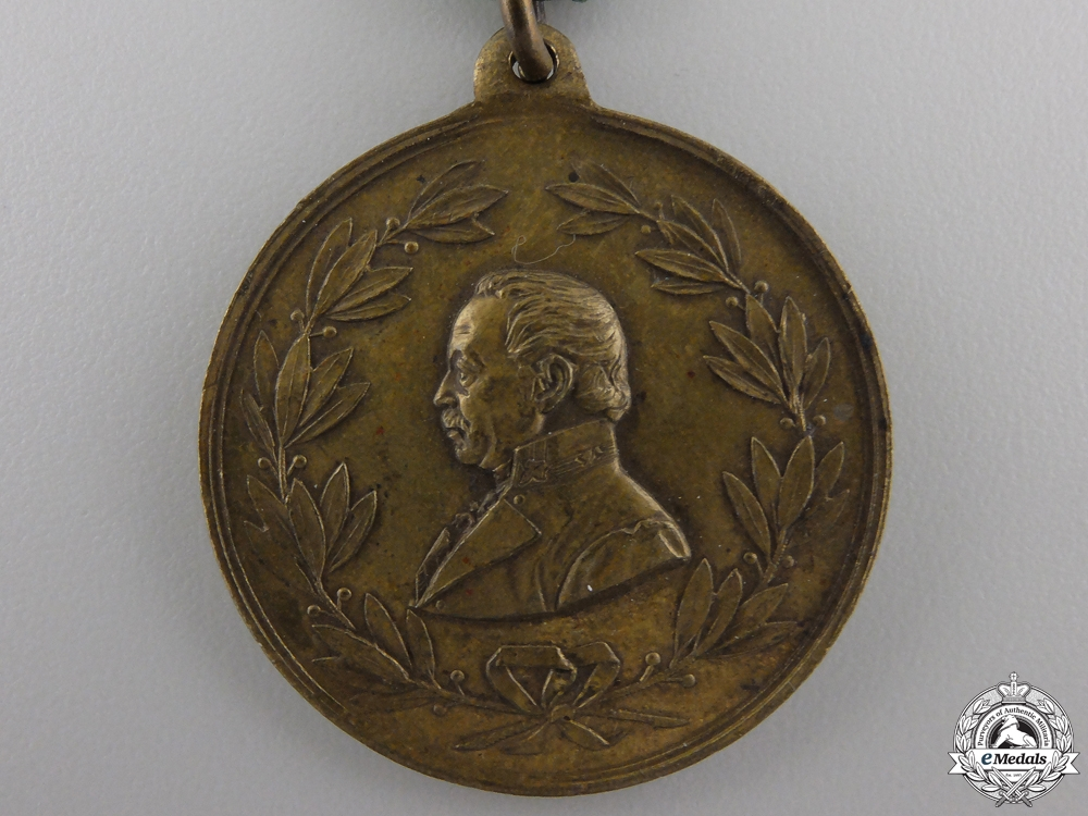 An 1892 Radetzky Memorial Monument Medal 1892