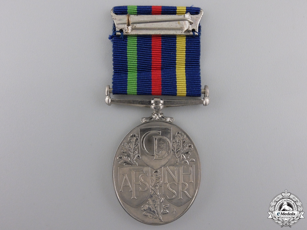 A Civil Defence Long Service Medal