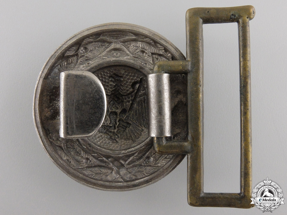 A German High Justice Official Belt Buckle