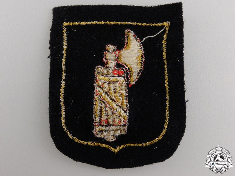 An Italian SS Volunteer Sleeve Shield