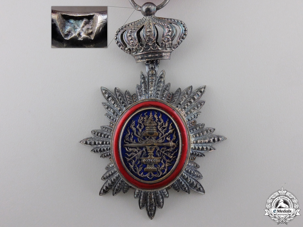 An Order of Cambodia; Knight's Badge