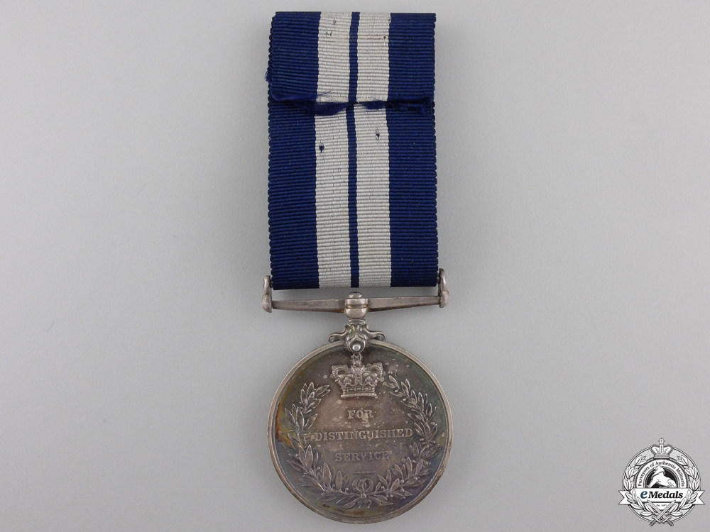 A First War Distinguished Service Medal to the Auxiliary Patrol