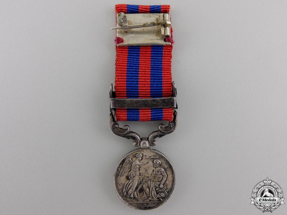 A Miniature India General Service Medal; Burma 1885-7