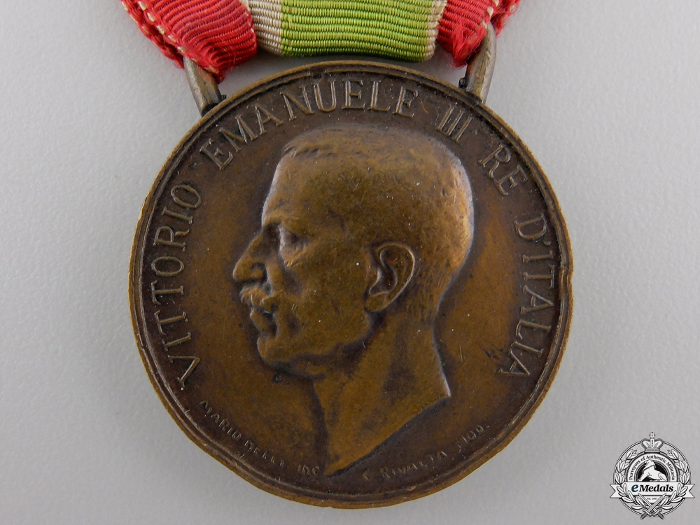 An 1848-1918 United Italy Medal