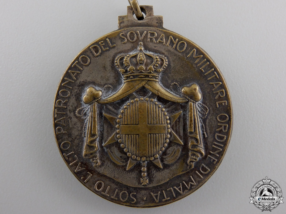 An Italian Sovereign Order of Malta Merit Medal